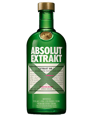 Absolut Extrakt Vodka 700mL bottle