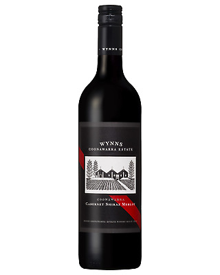 Wynns bottle Cabernet Shiraz Merlot Dry Red Wine 750mL Coonawarra