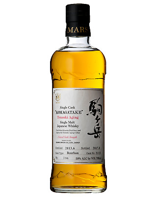 Mars Komagatake Tsunuki Single Malt Whisky 700mL bottle Japanese Whisky