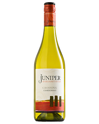 Juniper Crossings Chardonnay case of 12 Dry White Wine 750mL Margaret River