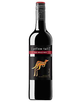 Yellow Tail Big Bold Red case of 6 Red Blend Dry Red Wine 750mL