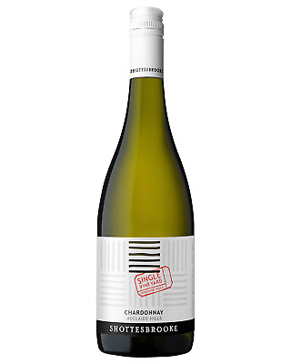 Shottesbrooke Single Vineyard Chardonnay 2015 bottle Dry White Wine 750mL