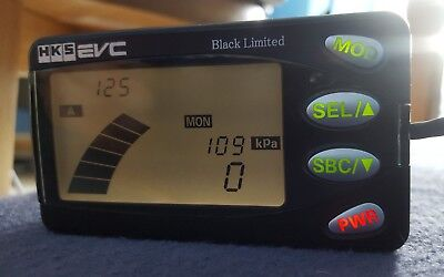 Hks Evc 5 V Electronic Boost Controller Black Ltd Ebc Evo Valve Skyline Turbo