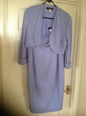 Veni Infantino for Ronald Joyce mother of the bride dress and jacket size 18