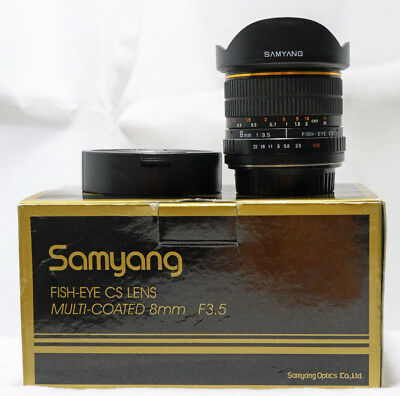Samyang 8mm f/3.5 Aspherical IF CANON Efs
