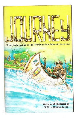 JOURNEY : THE ADVENTURES OF WOLVERINE MACALISTAIRE. Vol 1    OUT OF PRINT