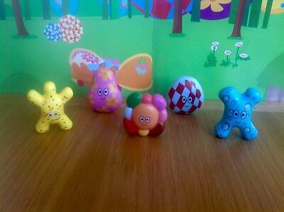 In The Night Garden Haahoo Hahoo Figures Full Set - Rare! - Ideal Cake Toppers!!
