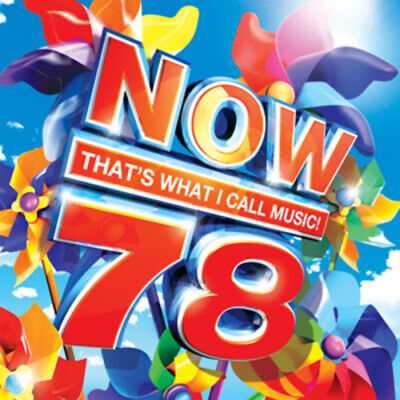 Various Artists : Now That's What I Call Music! 78 CD 2 discs (2011) Great Value
