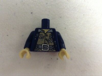 Lego Minifigure Davy Jones Potc Torso Body Pirates Of The Carribbean