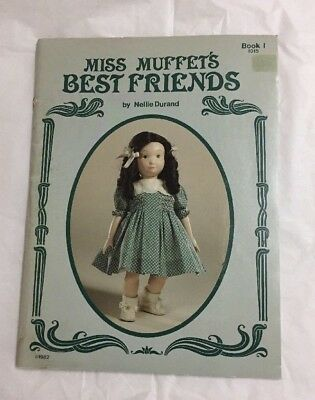 Miss Muffet's Best Friends Doll Clothing Sewing Patterns Book Nellie Durand 1982