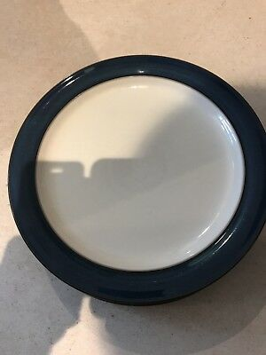 2 WONDERFUL STYLISH DENBY BOSTON  DINNER PLATES 10.5 INCH USED CONDITION seconds