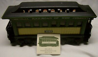 Passenger Car Train Decanter Central Railroad of NJ by Regal China
