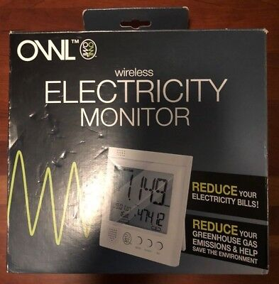 OWL Wireless Electricity Monitor real-time energy monitor CM119A