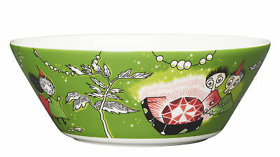 Moomin Bowl Thingumy and Bob and the King's Ruby Green 15 cm Arabia New Model