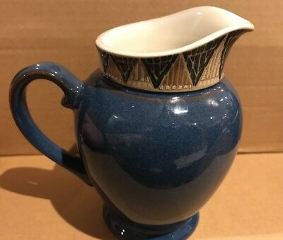 """DENBY BOSTON SPA 7.5"""" LARGE MILK/WATER JUG Used but in good condition"""