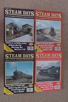 Back Issues : STEAM DAYS MAGAZINES : Jan, May, Jun & Jul 2007