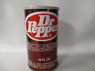 Dr Pepper Can Transistor Can Radio With 1979 Logo