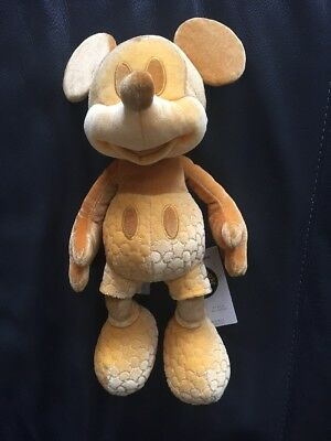 Mickey Mouse Memories Gold Plush February Release In Hand Disney Store Exclusive