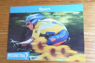 Lance Armstrong  Cycling  Picture This Card 2005  Mint