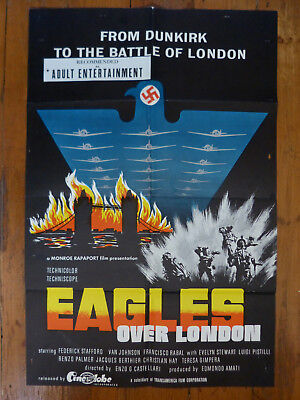 Eagles over London US 1 sheet poster