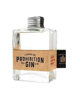 Prohibition Liquor Co Gin Mini Carafe 100mL bottle
