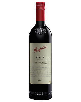 Penfolds RWT Barossa Valley Shiraz 2015 case of 6 Dry Red Wine 750mL