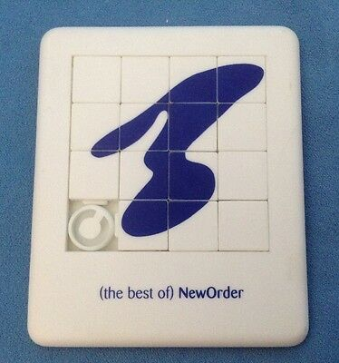 Rare - Promo Only - New Order 'best Of' - Tile Puzzle Game From 1994