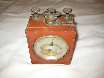 antique g.p.o galvanometer ,  tester for restoratoin