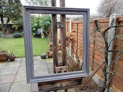 """really old picture frame shabby chic fits a 23"""" X 20 inch painting"""