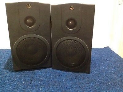 NHT MODEL M00 powered monitor speakers