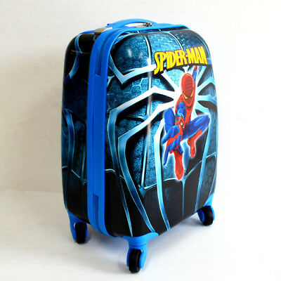 Kid Gift Wheeled Rolling Suitcase Travel Bag Luggage Trolley ( 4-Wheel Spider )
