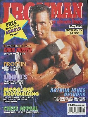 Ironman Bodybuilding Magazine May 1993 No Poster