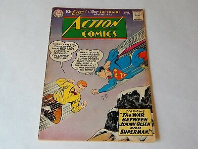 Action Comics # 253 - 2nd Supergirl - Solid Mid-Grade OW/ Pages