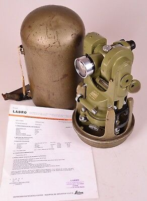 .Excellent Wild T1A Theodolite Heerbrugg Switzerland