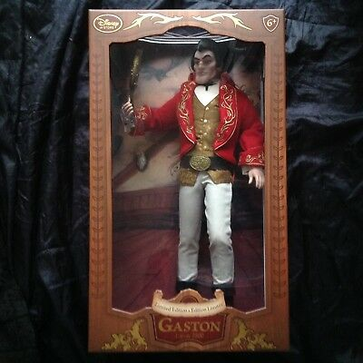 Disney Limited Edition Dolls, Beauty and the Best, Gaston.