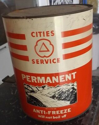 Cities Service Anti Freeze Can 1 Gallon