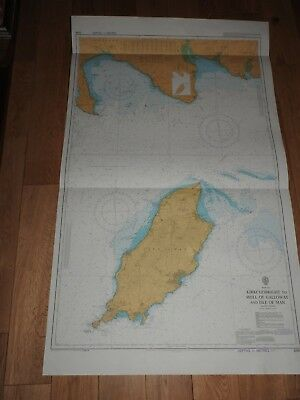 Nautical Chart No. 2094 Kirkcudbright to The Mull of Galloway and isle of man.