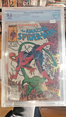 AMAZING SPIDER-MAN #318 - CBCS Graded 9.8 - Todd McFarlane Scorpion cover!