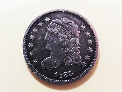 1835 Silver Capped Bust Half Dime 5c