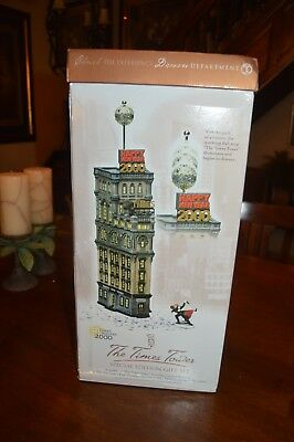 1999 Department 56 The Times Tower Special Edition Gift Set