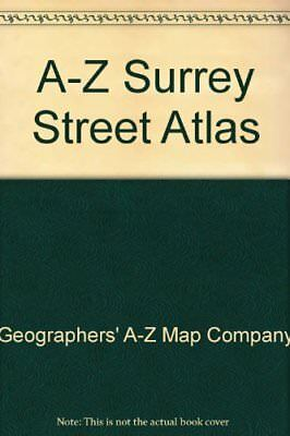 A-Z Surrey Street Atlas by Geographers' A-Z Map Company Spiral bound Book The