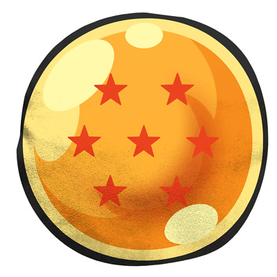 Dragonball Z - Dragonball Round Cushion - Loot - BRAND NEW