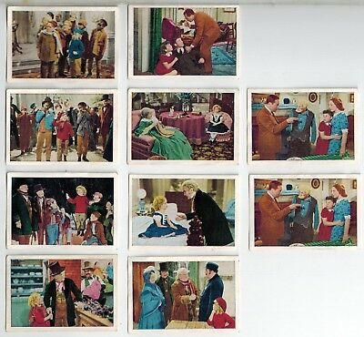 "Australian Licorice Collector Cards - 1937 Shirley Temple in ""Dimples"" (10)"