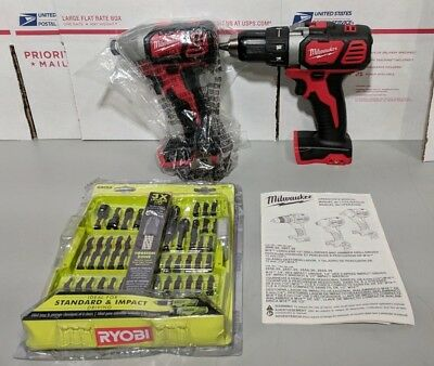 Milwaukee 2691-22 18-Volt Compact Drill and Impact Driver Combo