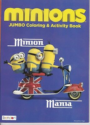 Minion Manic Minions Coloring and Activity Book -- NEW -- Great Gift Too