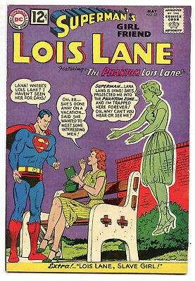 JERRY WEIST ESTATE: SUPERMAN'S GIRL FRIEND LOIS LANE #33 (1962) qualified VF/NM