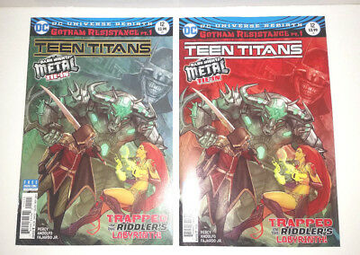 Teen Titans #12 First Appearance Batman Who Laughs NM 1st and 2nd Prints CGC it