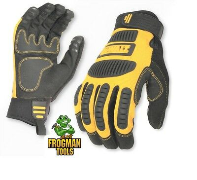 DeWalt DPG780 Performance Mechanics Work Gloves Free Shipping!