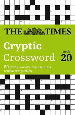 The Times Cryptic Crossword Book 20 80 of the World's Most Famo... 9780008139803