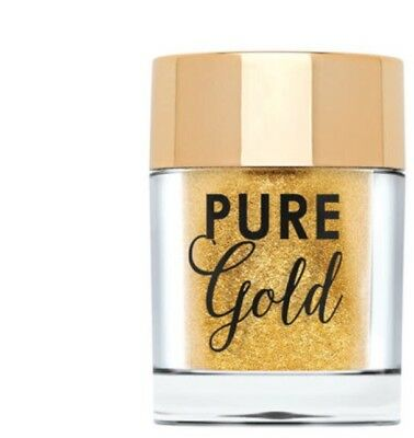 TOO FACED Pure Gold Loose Glitter 2g - Face & Body - Infused With Real Gold